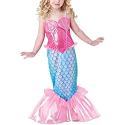 Infant Toddler Baby Halloween Clothes Mermaid Kids Girls Dresses Costume