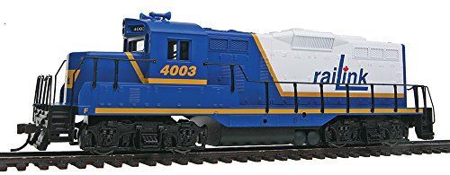 - Walthers, Inc. Standard DC Rail Link #4003 Train, Blue/White/Yellow
