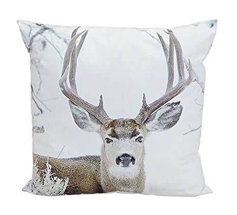 Funda de almohada de XXL de ciervo - gran grande de almohada ...
