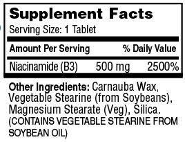 Endur-Amide Sustained Release 500mg NiacinAmide
