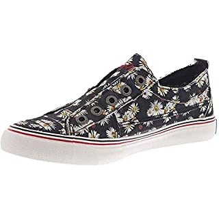 Blowfish Play Black Lazy Daisy Print Canvas 8