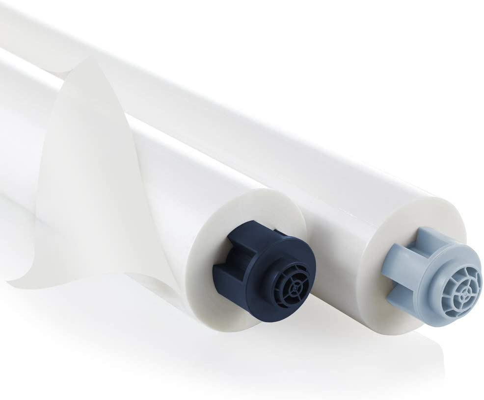 GBC Pinnacle EZ Load Blue End Cap Laminating Roll Film, NAP I, 1.5 Mil, 25 inches x 500 feet, 2 Pack (3748201EZ)