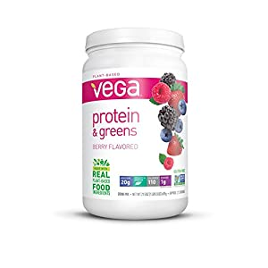 Vega Protein & Greens, Berry, 1.34 lb, 21 Servings