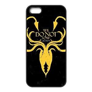lanister logo games of thrones logo iPhone 5 5s Cell Phone Case Black yyfabd-262098