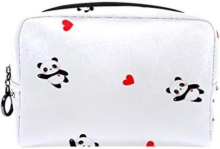 Cosmetische tas reizen toilettas voor vrouwen dagelijkse draagbare ritssluiting makeup tas moederdag