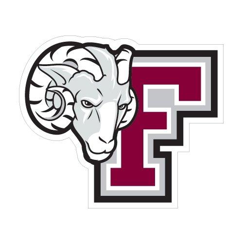 Fordham Medium Decal 'F w/Ram Head' by CollegeFanGear