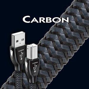 AudioQuest Carbon 16.4' USB 2.0 Cable Black/Gray 65-089-27