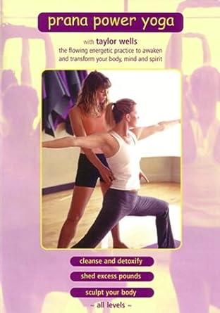 Amazon.com: Prana Power Yoga: Taylor Wells, Robert Learner ...