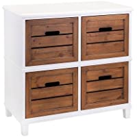 IMAX 65369 Trendy and Useful Strout 4-Drawer Chest