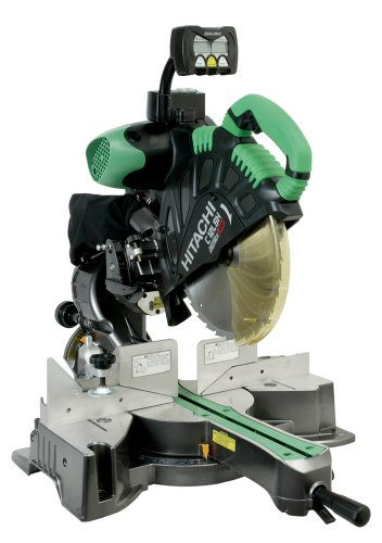 Hitachi C12LSH 15 Amp 12-Inch Dual Bevel Sliding Compound Miter saw with Laser Guide and Digital Bevel Display (Discontinued by Manufacturer)