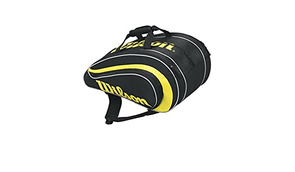 Wilson Rak Pak BKYE - Bolsa, color negro/amarillo, talla única