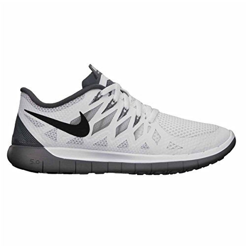 Nike Women s Free 5.0 White Black Pr Platinum Cl Gry Running Shoe 8 Women  US - Buy Online in KSA. Apparel products in Saudi Arabia. See Prices 5ce70c7ca