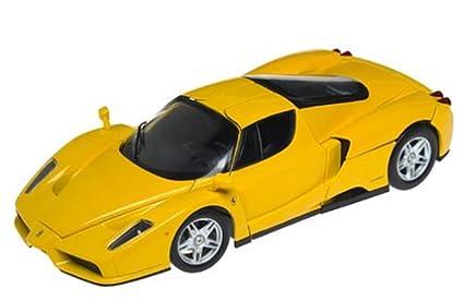 Hot Wheels Enzo Ferrari Yellow 1/18 Scale Model Car