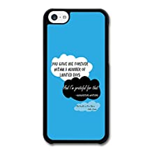 The Fault in Our Stars John Green Inspirational Quote You Gave me Forever case for iPhone 5C