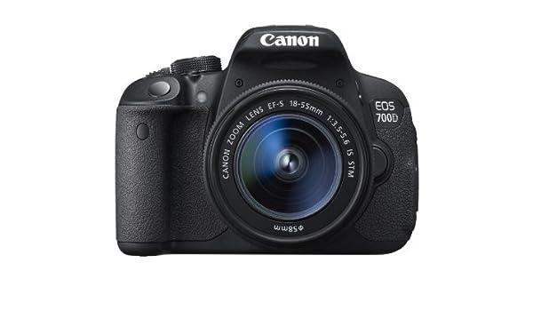 Canon EOS 700D + EF-S 18-55mm Juego de cámara SLR 18MP CMOS 5184 x ...