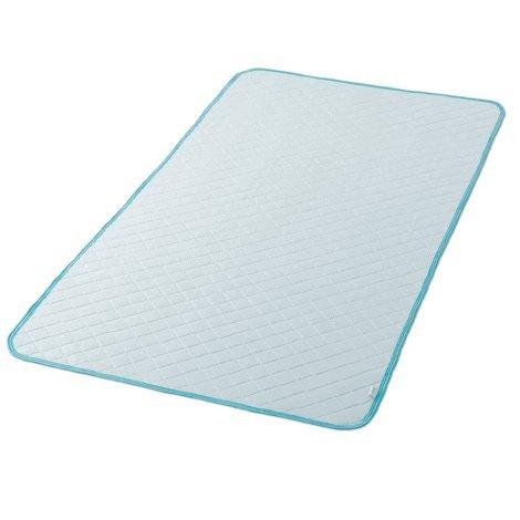 敷きパッド ダブル 140×205cm アイスマックス 涼感 冷感 クール B01F6FVT2Q