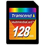 TS128MMC 128MB MMC MultiMedia Card Transcend 10-pack