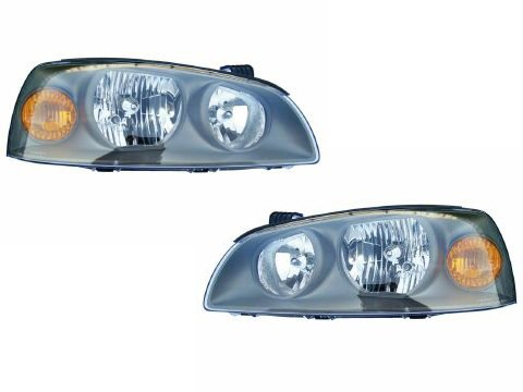 Hyundai Elantra Headlights Headlamps Set New (Pair Hyundai Elantra Headlight)