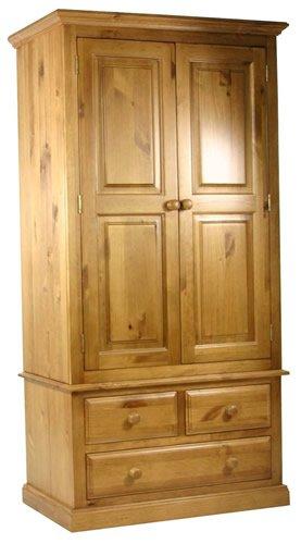 pine gents small wardrobe - Small Wardrobe