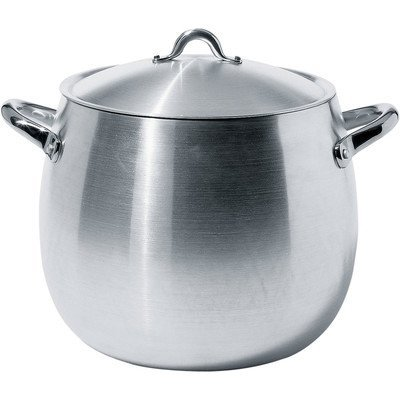 Alessi Mami Stock Pot (Mami 15.31-qt. Stock Pot with Lid by Stefano Giovannoni)