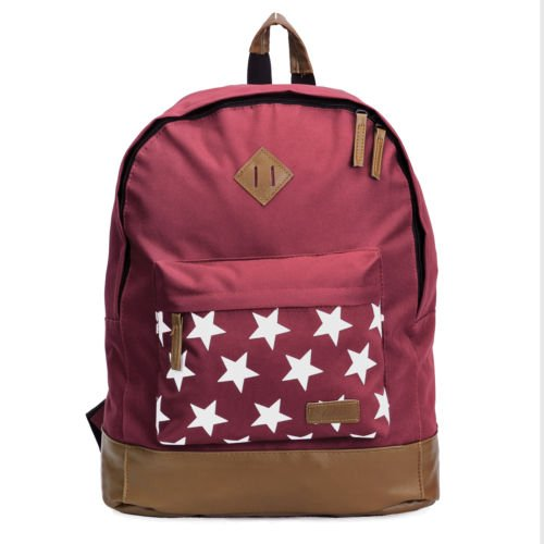 Ogio Hobo Purse (The Pecan Man Red Star Satchel Travel School Bag Canvas Stars Backpack)