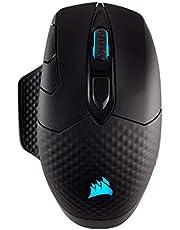 Corsair Dark Core RGB SE Draadloze optische gaming-muis Dark CORE RGB - FPS Standard Charging zwart