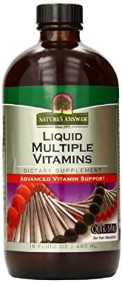 Nature's Answer Multiple Vitamins, 16-Ounce (Frustration -Free Packaging )