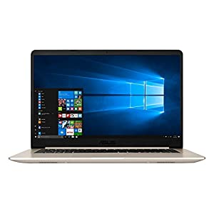 ASUS VivoBook S15 S510UN Intel Core i7 8th Gen 15.6-inch FHD Thin & Light Laptop (8GB RAM/1TB HDD + 256GB SSD/Windows 10/2GB NVIDIA GeForce MX150 Graphics/Gold/Gold/1.70 Kg), S510UN-BQ069T