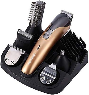 ClipperHair Clippers - Cortapelos para hombre 6 en 1, recargable, para hombres y bebés, corte de afeitar de barba de bajo ruido: Amazon.es: Salud y cuidado personal