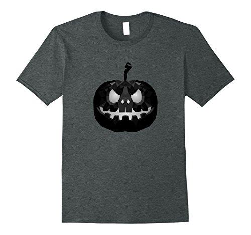 Geo Halloween Costume (Mens Halloween Pumpkin Face | Costume T-Shirt for Men,Woman,Kids Small Dark Heather)