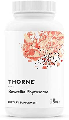 Thorne Research – Boswellia Phytosome – Indian Frankincense Boswellia Extract Supplement – 60 Capsules