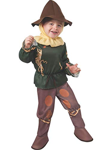 Rubie's Baby's Wizard Of Oz 75Th Anniversary Scarecrow Toddler Costume, Multi, Toddler -