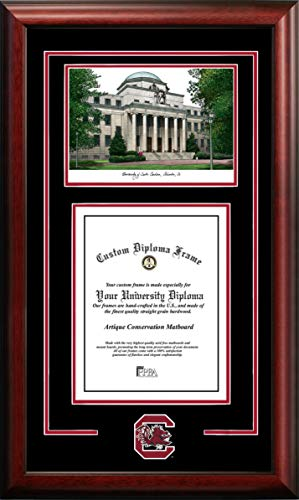 Campus Images South Carolina Gamecocks 11w x 14h Spirit Graduate Frame ()