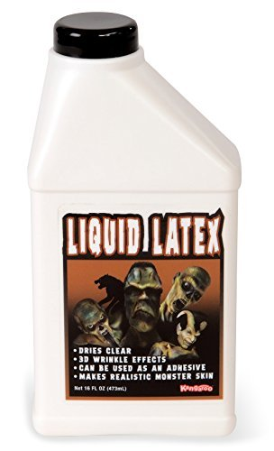 Kangaroos Professional Grade Liquid Latex Makeup, 16 Oz Pint -