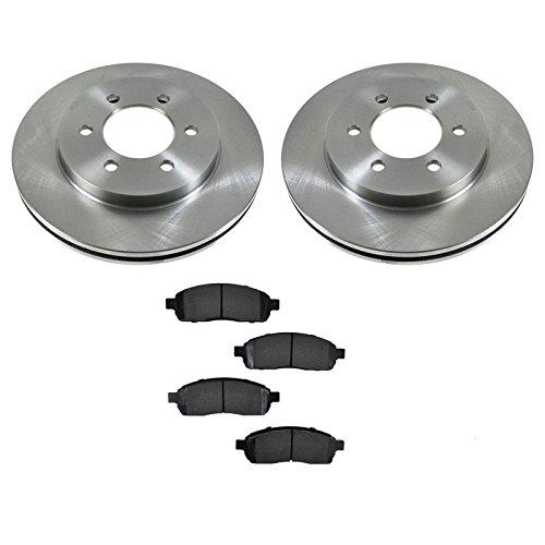 Premium Posi Metallic Brake Pad & Rotor Kit 6 Lug Front for Ford F150