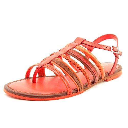 Cole Haan Dames Nassau Platte Sandaal Rode Sandalen 6 B - Medium