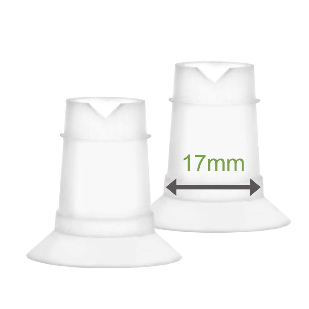 Maymom Flange Inserts 17 mm for Freemie 25 mm Collection Cup. 2pc/Each