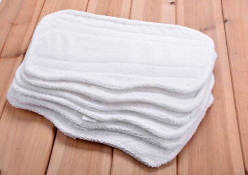 6 ++ ++ Standard Replacement Pads Shark Steam Pocket Mop S3250 3250 S3101 Microfiber