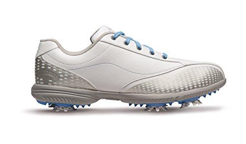 Callaway Halo Pro Golf Shoes, Women, White/Blue