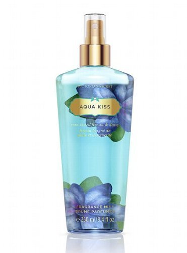 Victoria Secret Fantasies Body Mist AQUA KISS Brand New Scent Freesia & Daisy 8.4 fl oz by Victoria's Secret