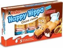 Kinder Happy Hippo Cocoa Cream (3x103.5g/3x3.65oz) Pack of 3