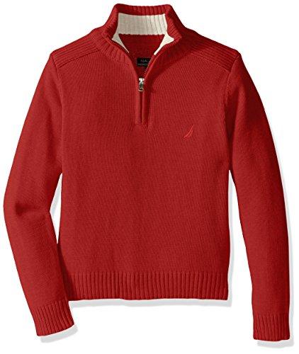 Nautica Boys Freeport Quarter Sweater