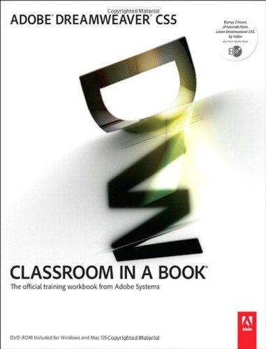 Adobe Dreamweaver CS5 Classroom in a Book Front Cover