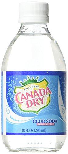 Canada Dry Club Soda Bottles, 10 Ounce 6 pack