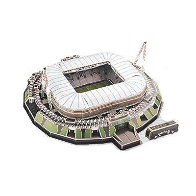 Tkfy Coppa Del Mondo Assemblare Puzzle Del Alps Stadium 3d Modello Di Calcio Fans Memorabilia Giocattoli Regalo Per Lo Sviluppo Dei Bambini Interessi A Calcio