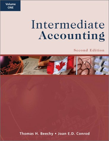 Intermediate Accounting Second Edition (Intermediate Accounting Second Edition)
