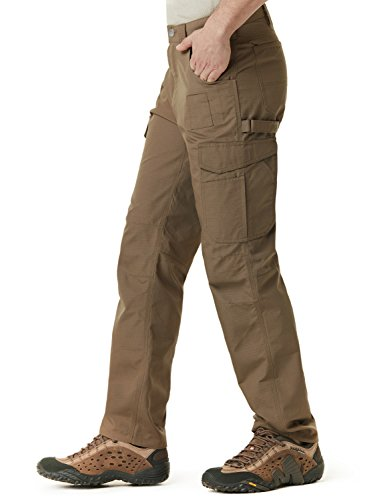CQR CQ-TWP302-CYT_32W/30L Men's Rip-Stop Tactical Work Utility Operator Pants EDC TWP302 by CQR (Image #3)