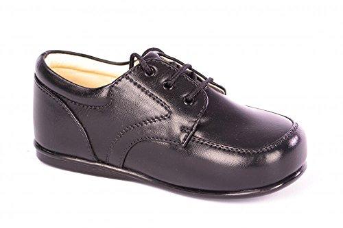 Smart Babies/Kleinkinder Matt schwarz Patent Lace Up Schuhe Größe 1-10