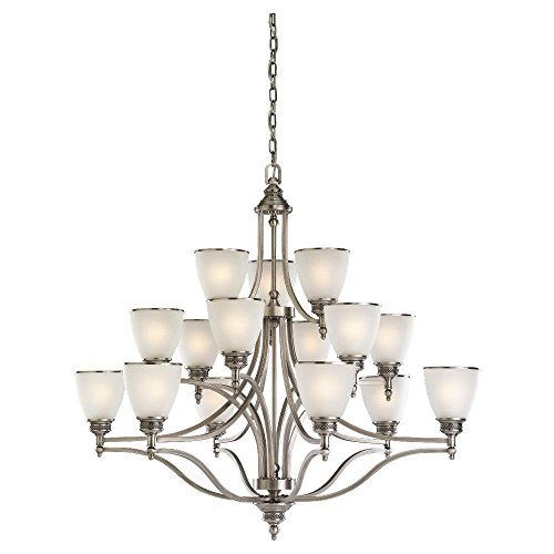 Fifteen Light Multi-Tier Chandelier ()