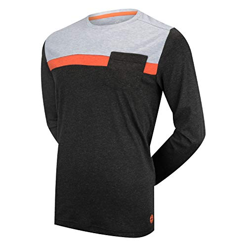 Price comparison product image CHCB Crew Long Sleeve Jersey XXXLarge Black/Orange